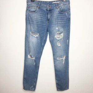 Zara Woman Medium Rise Relaxed Fit Jeans SIZE - 6